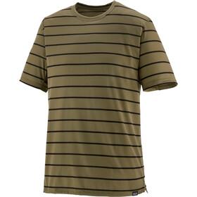 Patagonia Capilene Cool Trail T-shirt Homme, furrow stripe/sage khaki